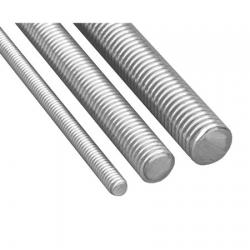 Varilla Roscada Galvanizada ASTM A307 Grado A x 3 MT