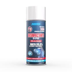 Abro Spray Desinfectante Con 75% De Alcohol 400 ml