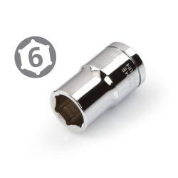 Dado (Socket) Hexagonal Milimétrico Mando 1/2 Best Value (10 a 19 MM)